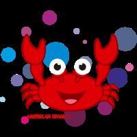 Amerikanische spanische Krabbe