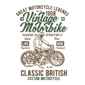 Vintage Motorbike Great Motorcycle Legends