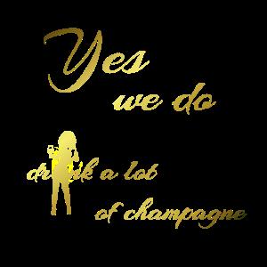 Jga Braut Party Frauen Geschenk Spruch Champagner