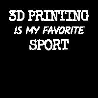 3D Printing is my Favorite Sport 3D Drucker