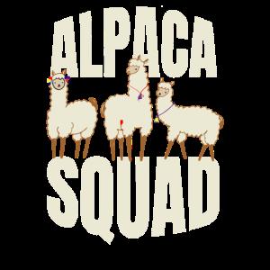 Alpaka Lama No Prob Lama Cool Lustig