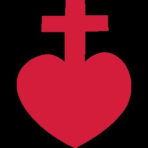 Herz kreuz