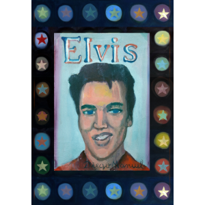 Elvis mit Sternen 2 b