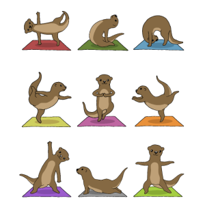 Yoga Otter