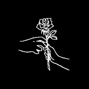 Hände/Versprechen/Valentinstag/Couple/Rose