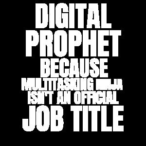 Digitaler Prophet