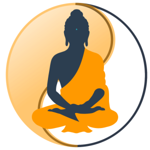 Buddha In Meditation Yin-Yang