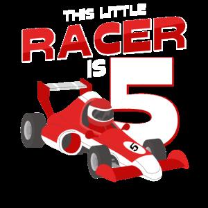 Dieser Kleine Rennfahrer Ist 5 Jahre Alt Geschenk