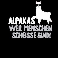 Alpaka Spruch Lama Tier