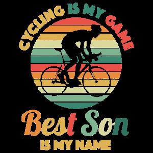 Fahrrad Fahrradfahren Sohn