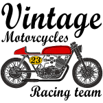 motorcycles vintage team