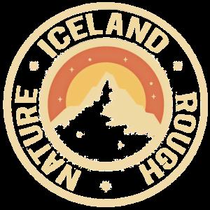 island inslaender retro geschenk