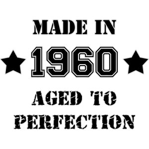 1960- Aged to perfection
