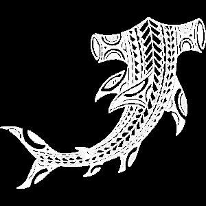 Hammerhai weiss