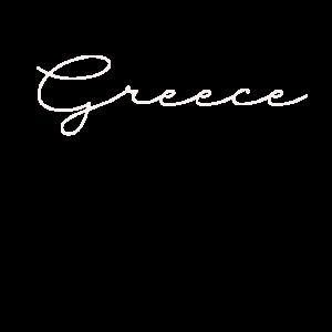 Greece Griechenland Urlaub Schriftzug
