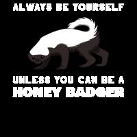 Honigdachs Honey Badger Marder Gefährlich Mutig