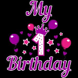 Mein Erster Geburtstag Geschenk Idee Mädchen Junge