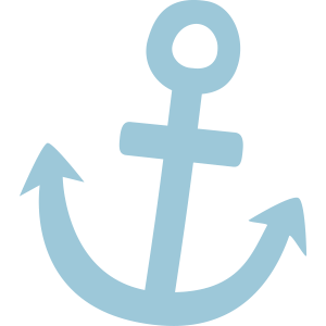 Illustration Anker Symbol maritim