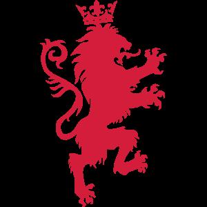 25 Löwe Krone Wappentier