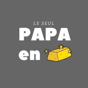 LE SEUL PAPA EN OR