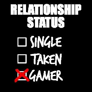 Relationship status gamer - Beziehungsstatus Gamer
