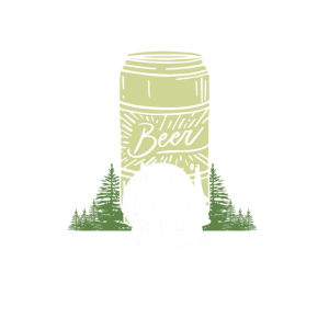 Camping ohne Bier ist nur im Wald sitzen