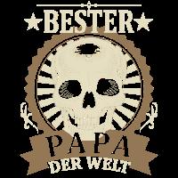 Bester Papa Der Welt T-shirt Vatertag Geschenk