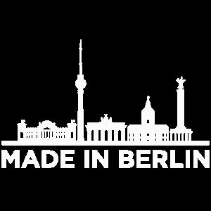 Made in Berlin T-shirt Berlin Souvenir T-Shirt bln