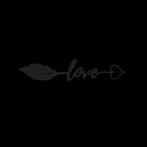 Love Pfeil Symbol Zeichen Herz Liebe Kunst Zeichen