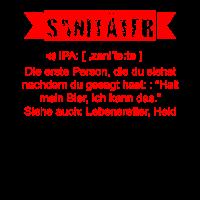Sanitäter Shirt · Die erste Person · Job Geschenk