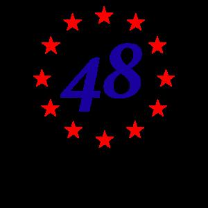 Anti Brexit 48 Percent Pro EU Flag Union Jack
