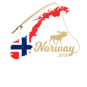 Norwegen 2020 Tour Geschenk elch flagge