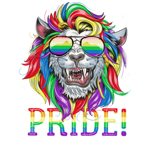 Löwe Gay Pride Regenbogen Flagge LGBTQ Geschenk