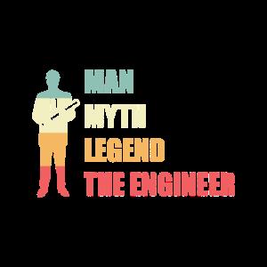 Ingenieur Herren Männer Berufswahl Geschenk