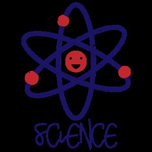 Atom Neutron Wissenschaft Science Spruch Geschenk