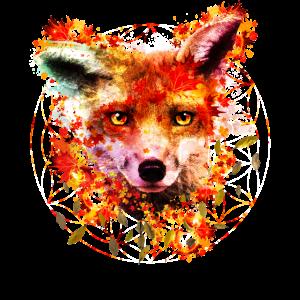 Aquarell Fuchs
