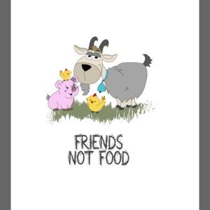 Friends-not-food