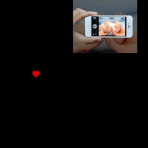 Schaffen Sie kundenspezifisches personalisiertes einzigartiges Foto-Text-Geschenk