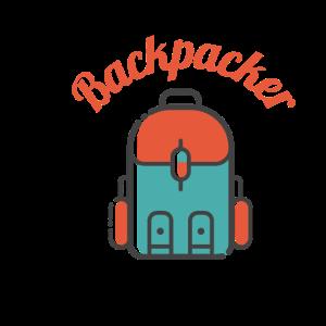 Backpacker für die Rucksacktouristen