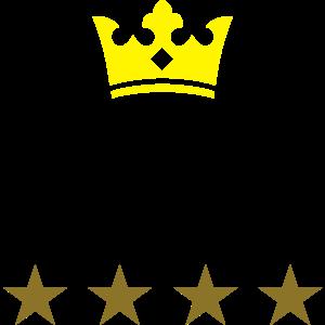 krone sterne namensschild