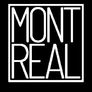 Coole Montreal Reisende Quebec Kanada Typografie