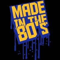 Made in the 80s Graffiti Design