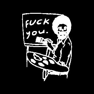 Fuck you afro skelett