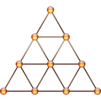 Tetraktys, Pythagoras, Heilige Geometrie, Matrix