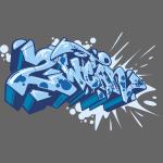 √ Dae 2Wear graffiti style ver02 Blue edt