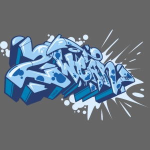 Dae 2Wear graffiti style ver02 Blue edt.
