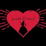 Team Braut - Herz & Braut Silhouette