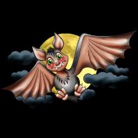Niedliche Fledermaus