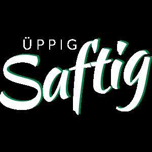 UeppigSaftig Script weiss