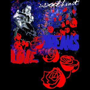 Elvis Love and Dreams Design